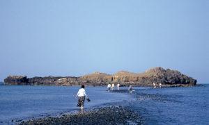 奎壁山-摩西分海
